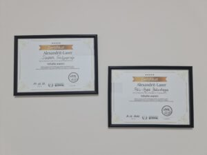 Unsere Zertifikate - Beauty Skin Solutions