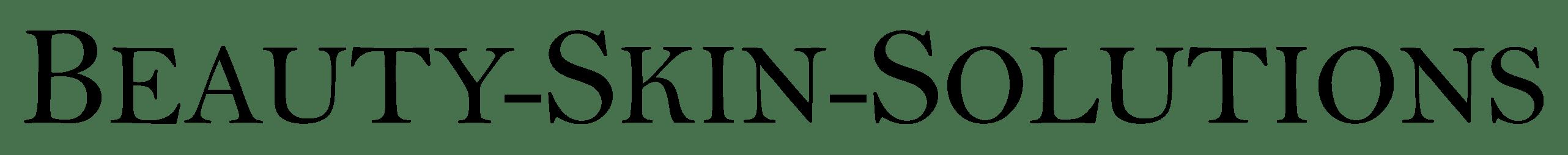 Beauty Skin Solutions Logo Schriftzug